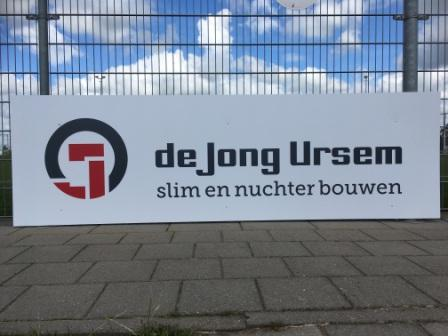 Nieuwe bordsponsors! De Jong Ursem & K_Dekker bouw en infra